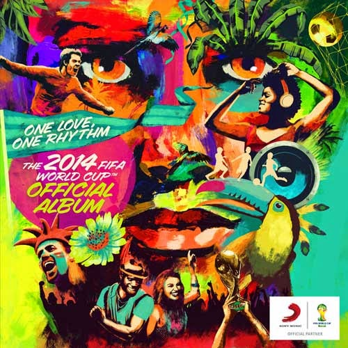 The 2014 FIFA World Cup Official Album poster