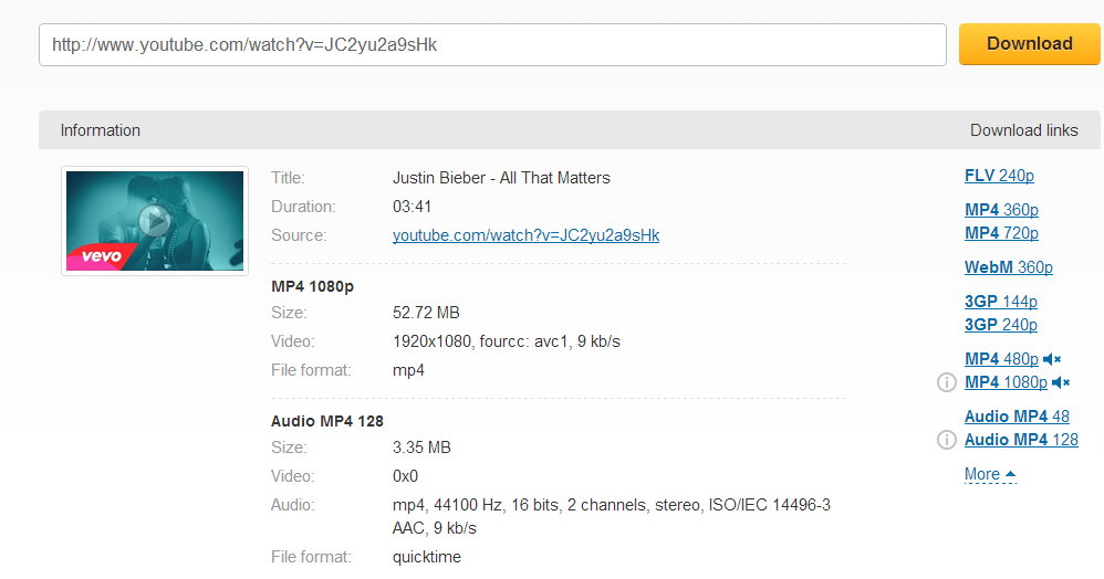 how to download avi format videos from youtube