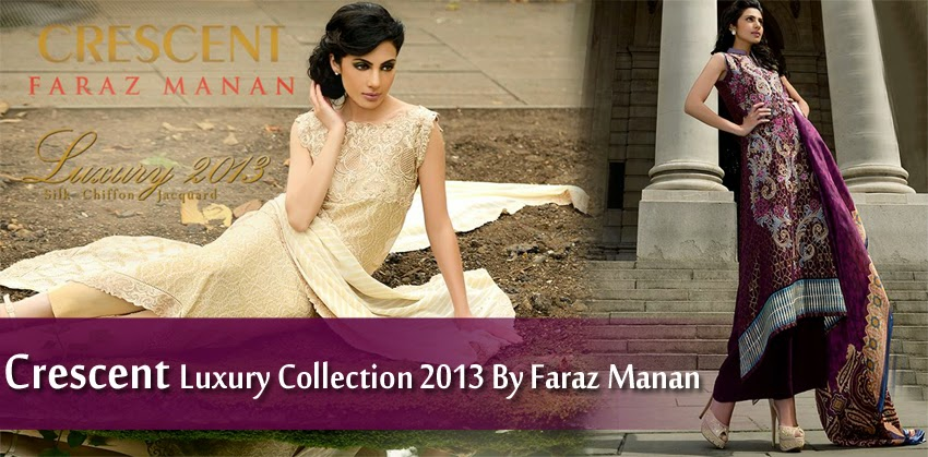 CRESCENTFarazMananLuxury2013 0001 wwwFashionhuntworldblogspotcom - Crescent Faraz Manan Luxury Fall/Winter 2013-14