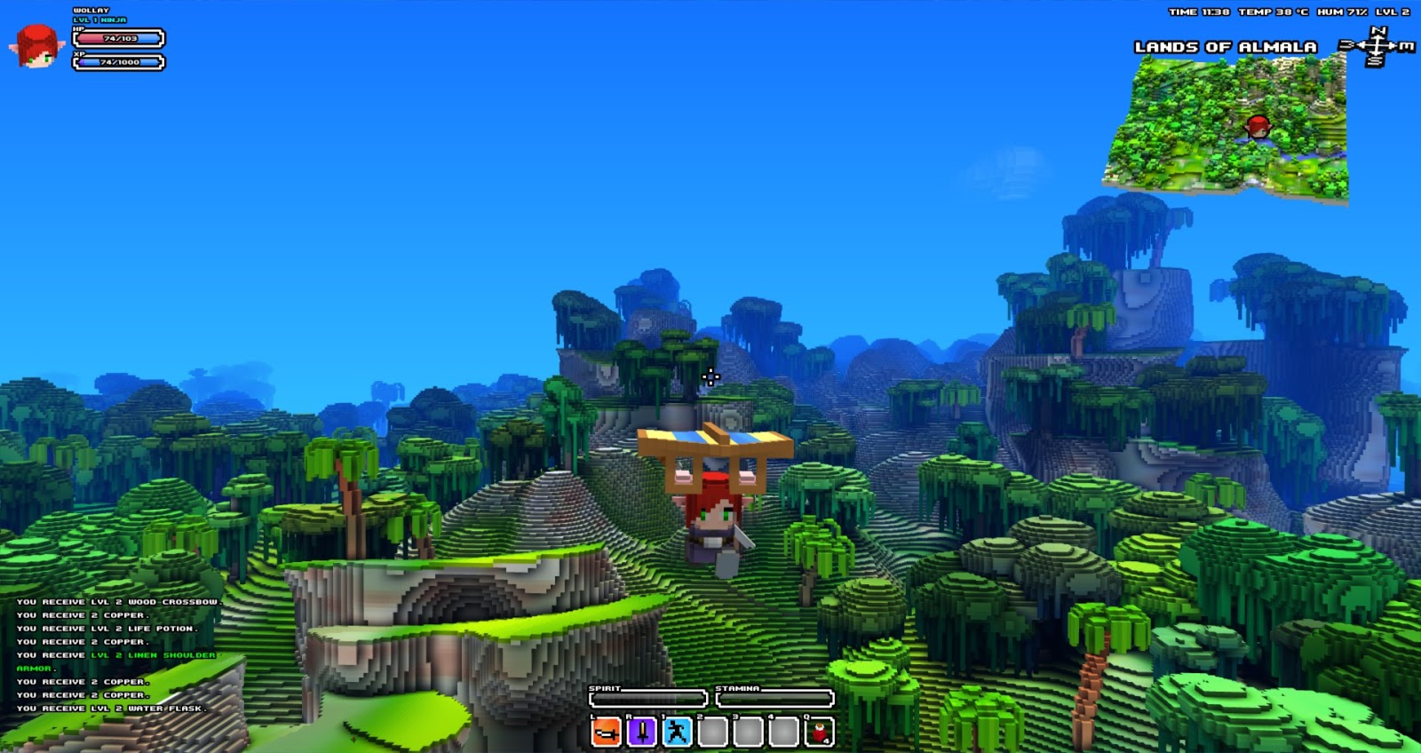 Wollays blog cube world landscape screenshots wollays blog gumiabroncs Choice Image