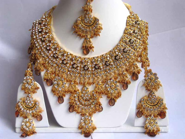 fida buy gold traditional fully with set heavy necklace jewellery jhumki pearls dp embellished