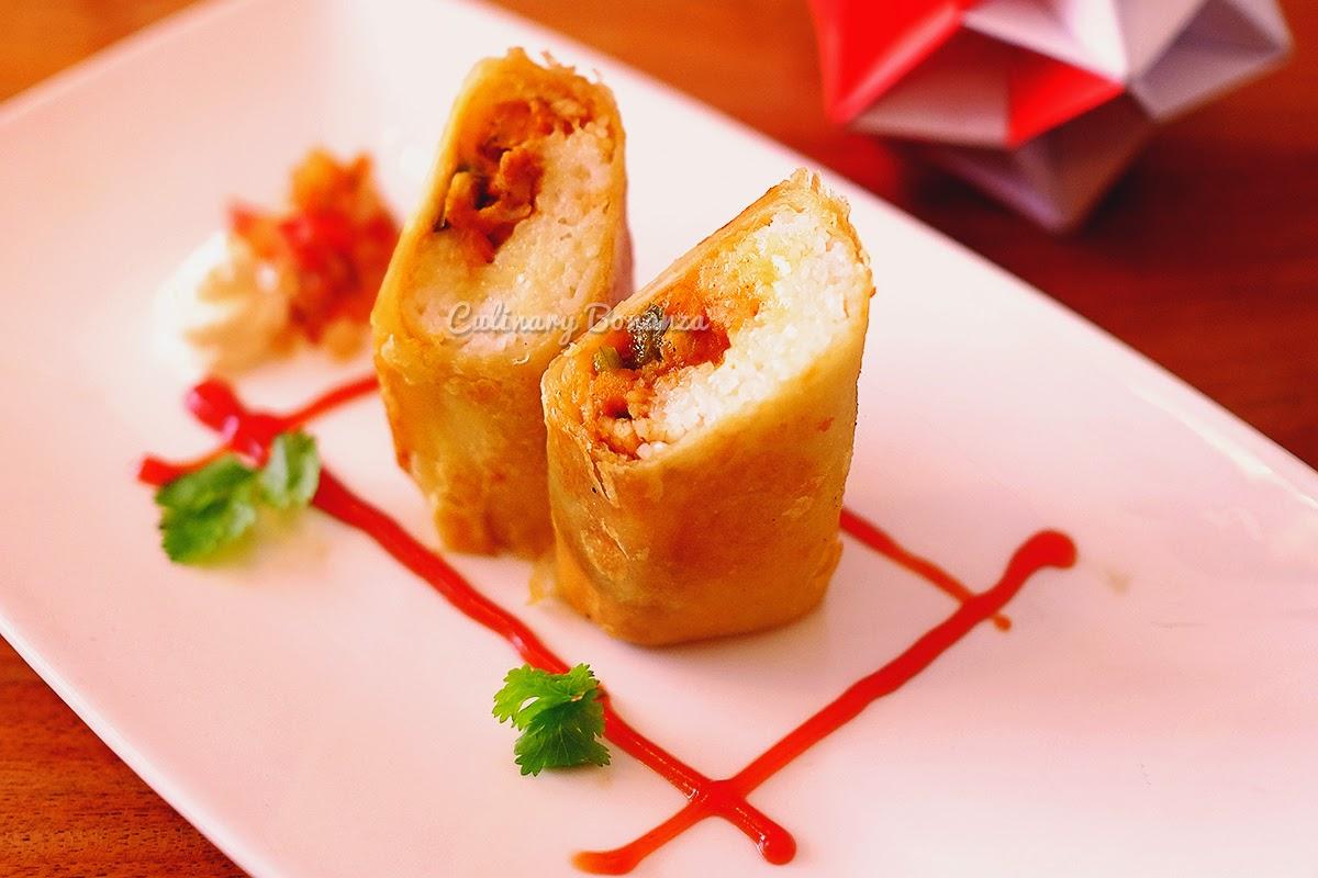 Chicken Burrito (www.culinarybonanza.com)