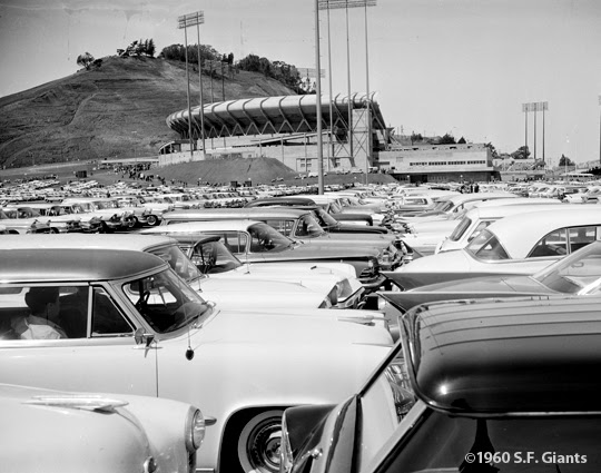 Candlestick Park parking lot