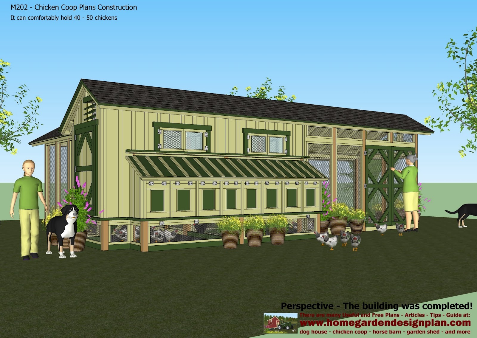Share large chicken coop plans for sale venpa for Large chicken house