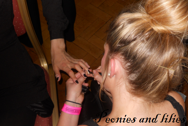 London fashion week, Ashley Isham AW 13, Ashley Isham aw 13 backstage nails