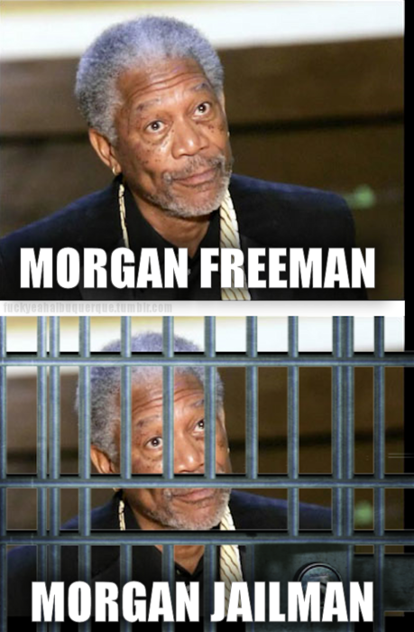 Morgan Freeman - Morgan Jailman