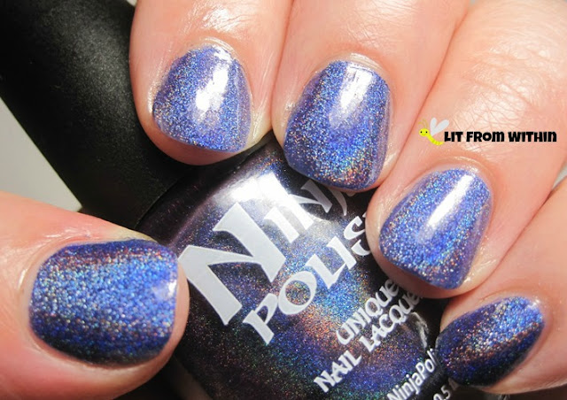 Glamorous, a reputed dupe for the VHTF OPI DS Glamour
