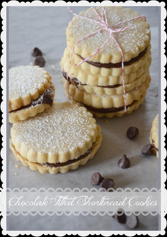 Nutella-Filled Shortbread Cookies Recipes — Dishmaps