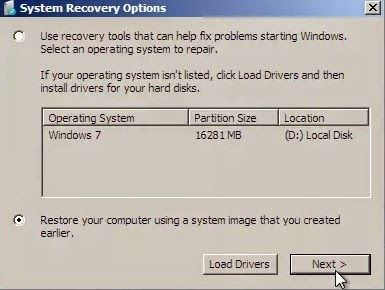 How to Restore Installed Apps on Reinstalled windows OS via geniushowto.blogspot.com restoring apps and data with System Recovery Options