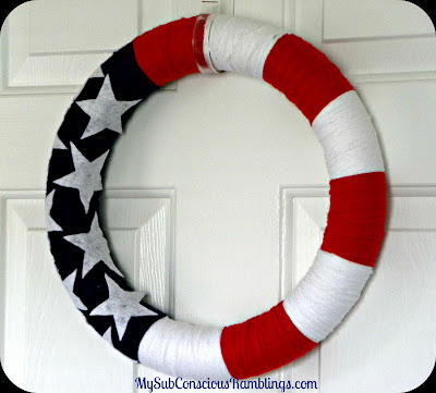 Stars & Stripes Wreath