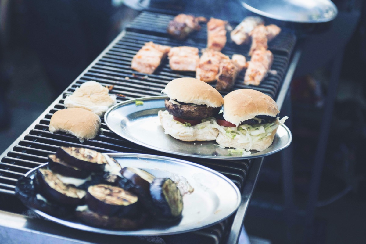 asdaMEATup burgers on grill