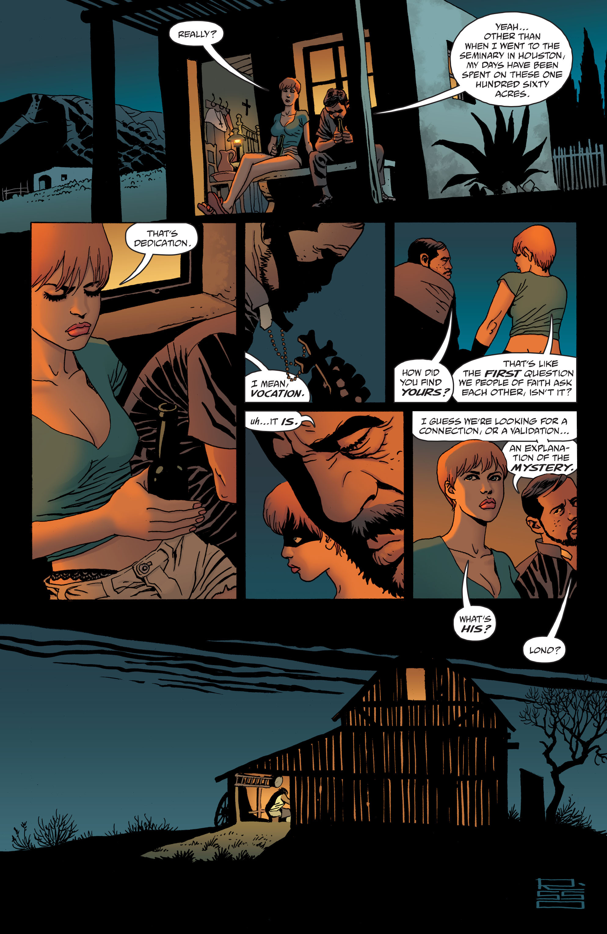 100 Bullets: Brother Lono Full Page 45