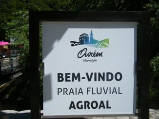 Bem-vindo á Praia Fluvial Agroal