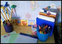 Our Writing Station