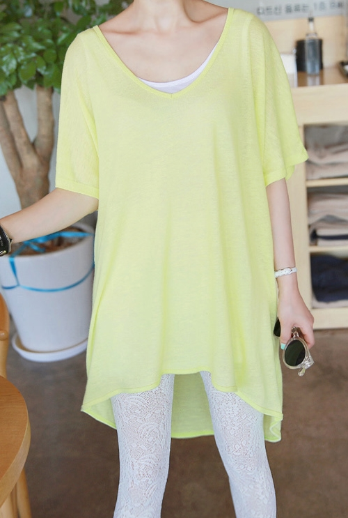 Oversized Hi-Low Hem TEE