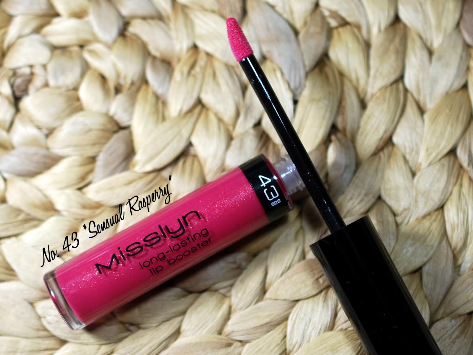 Misslyn Long-Lasting Lip Bosster Nr. 43 Sensual Raspberry