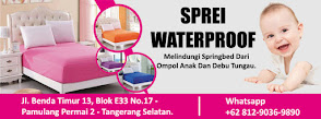 SPREI WATERPROOF | PRODUSEN SPREI WATERPROOF TERBESAR DI INDONESIA | WHATSAPP ONLY 081290369890