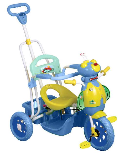 Xe 3 bánh cho trẻ mua ở đâu tốt?