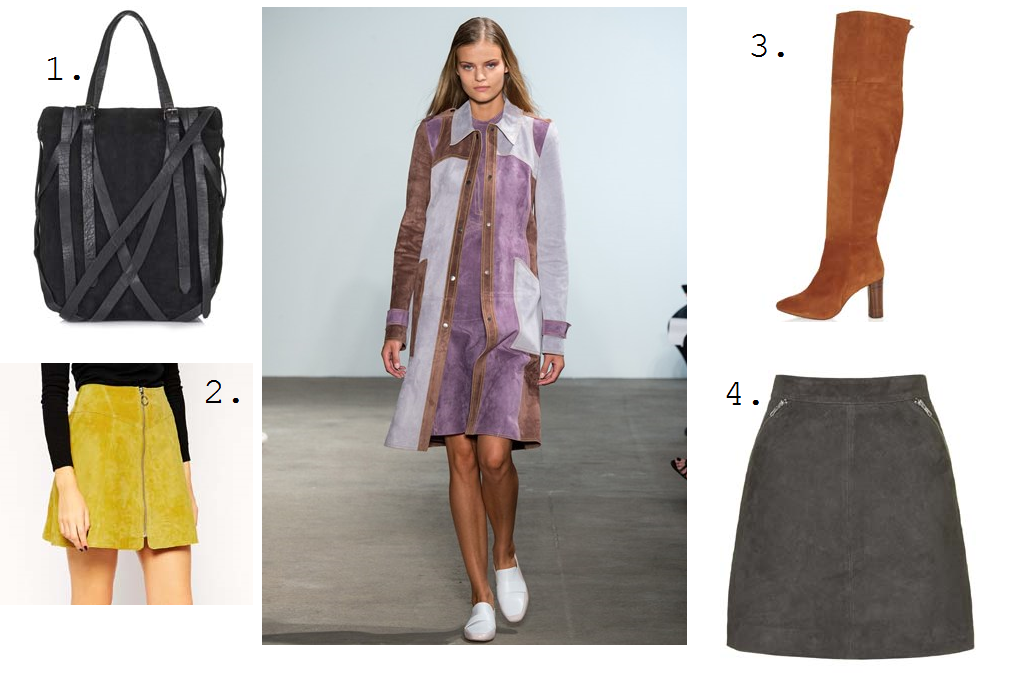 ss15 trend suede highstreet fashion blog