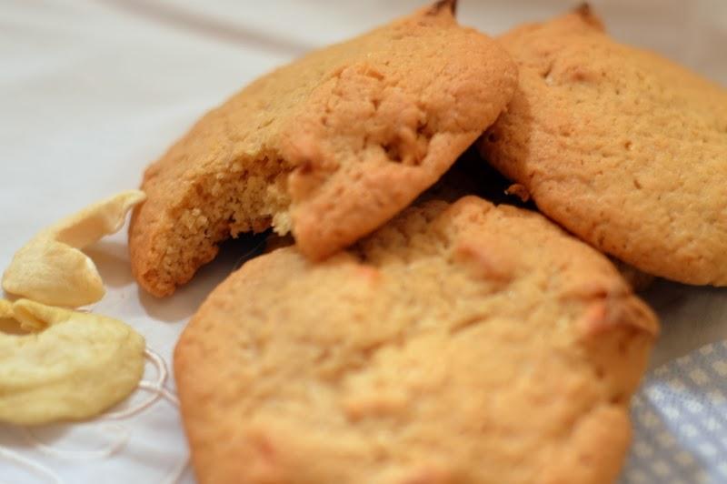 Cookies au beurre de cacahu te et aux pommes lorni te gave de gras - Cookies beurre de cacahuete ...