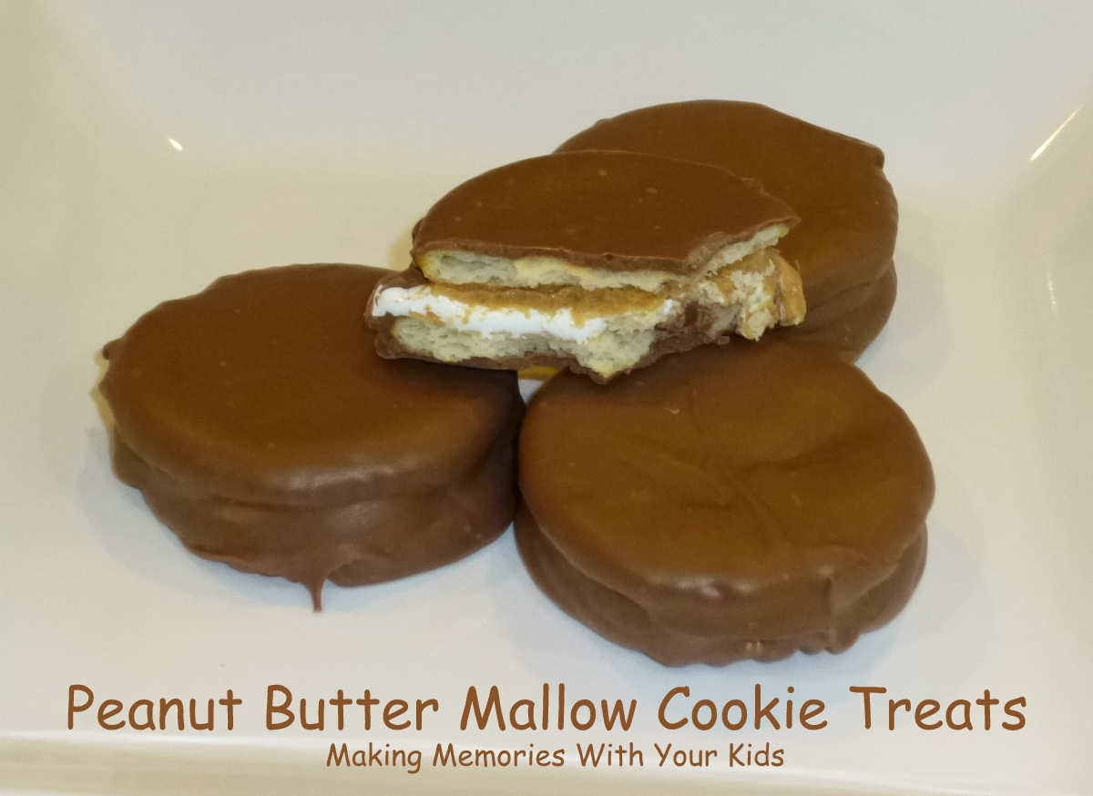 Peanut Butter Mallow Cookie Treats - Making Memories With Your Kids