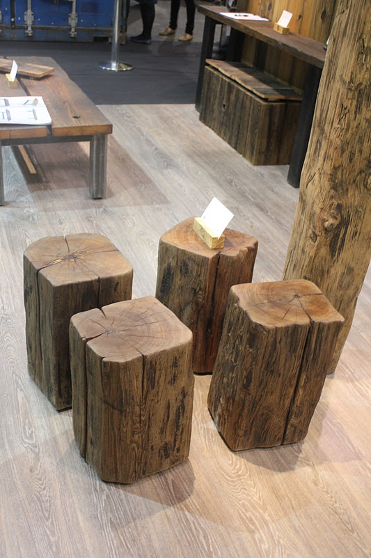 Stump stools by cumulus project