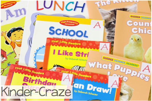 Scholastic easy readers
