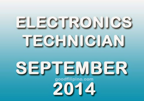 Electronics Technician (ECT) Exam for September 2014