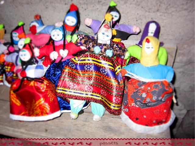 Muñecas típicas Capadocia