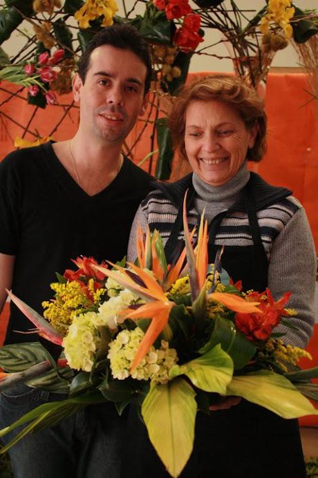Curso de Arte Floral Segunda Edição na Albano .