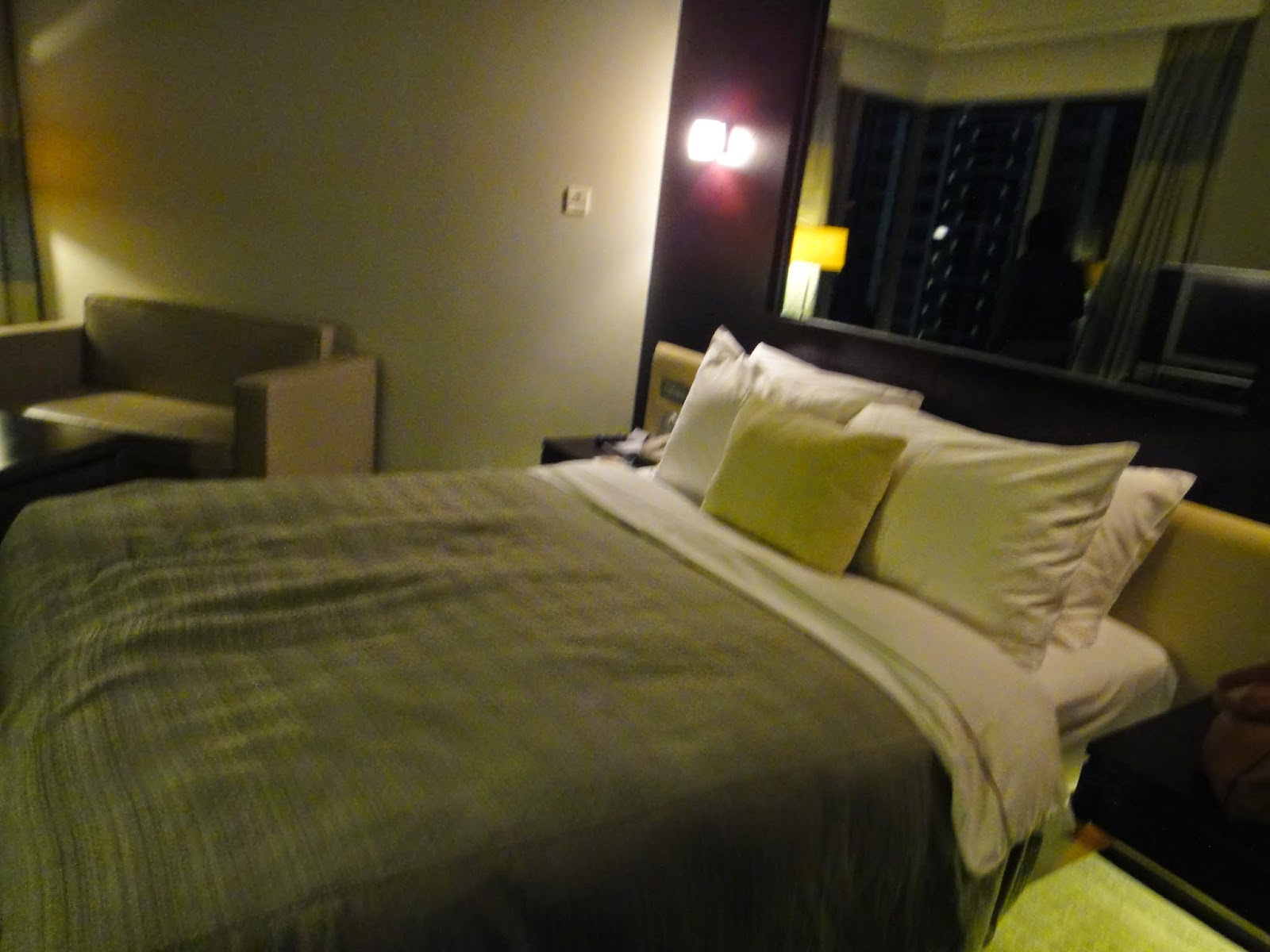 Panorama Hotel Tsim Sha Tsui Double Bedroom Hong Kong