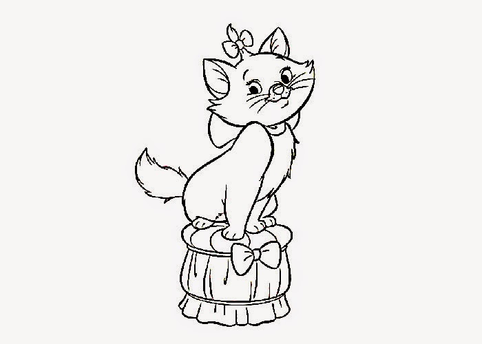 cute cat coloring page free coloring pages and coloring