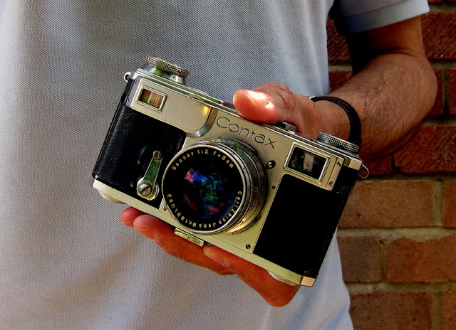 Contax IIa. Photograph by Tim Irving