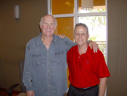 Me With Terry Bradshaw At The Studio