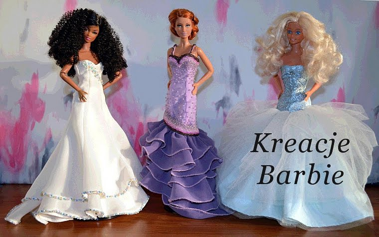 Kreacje Barbie