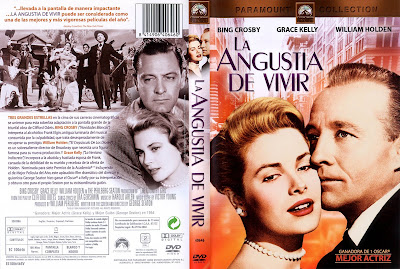 DvD Cover: La angustia de vivir | 1954 | The Country Girl
