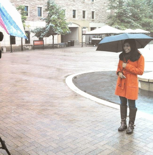 THE APPRECIATION OF BOOTED NEWS WOMEN BLOG : Cold Rainy