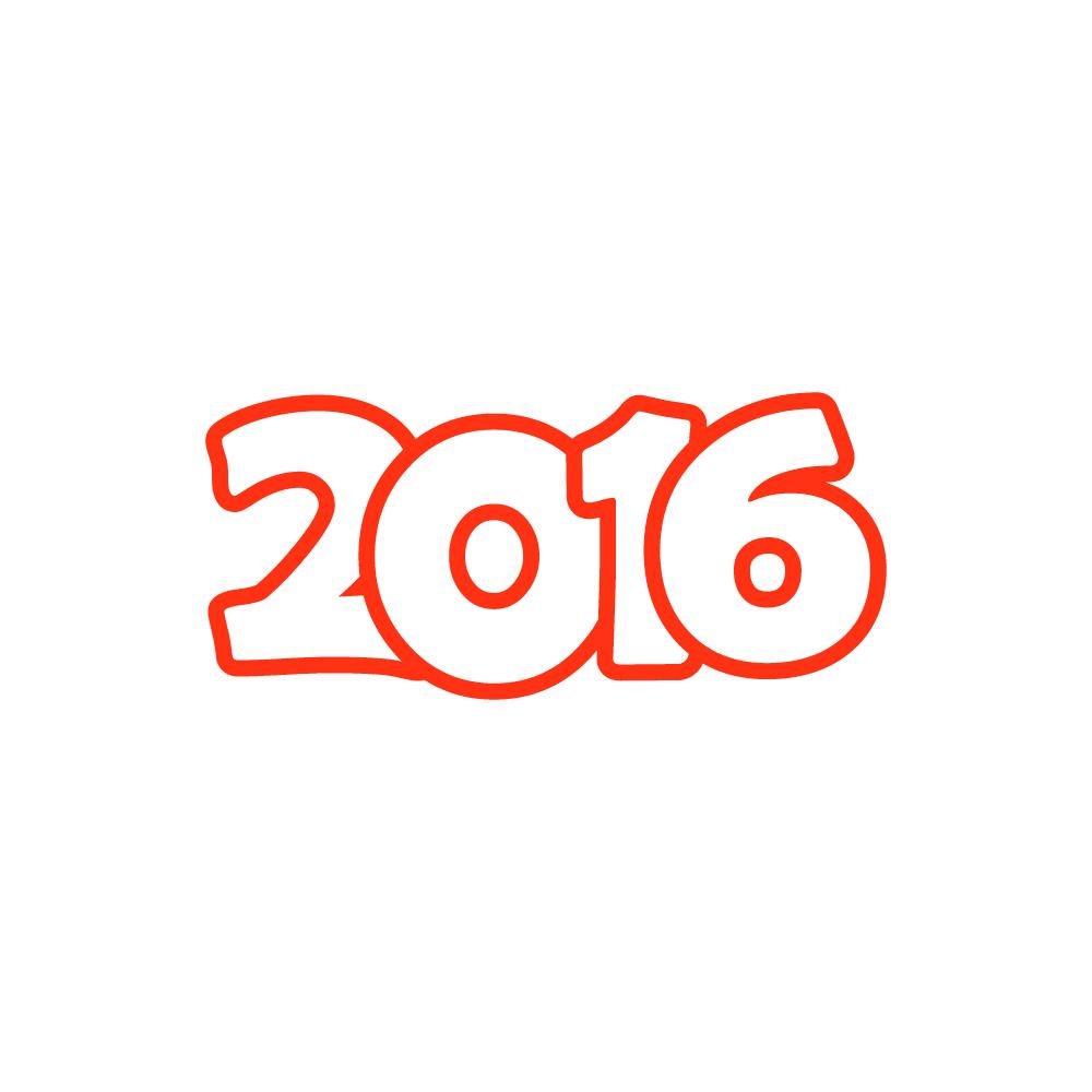 2016年賀状素材無料 ...
