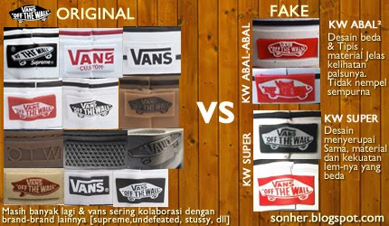 vans authentic original vs fake