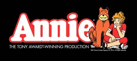 Win 4 tickets to Annie in Boston