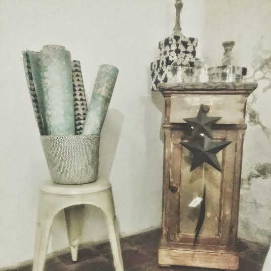 decoracion vintage industrial