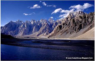 Passu Peaks, Hunza, Pakistan.