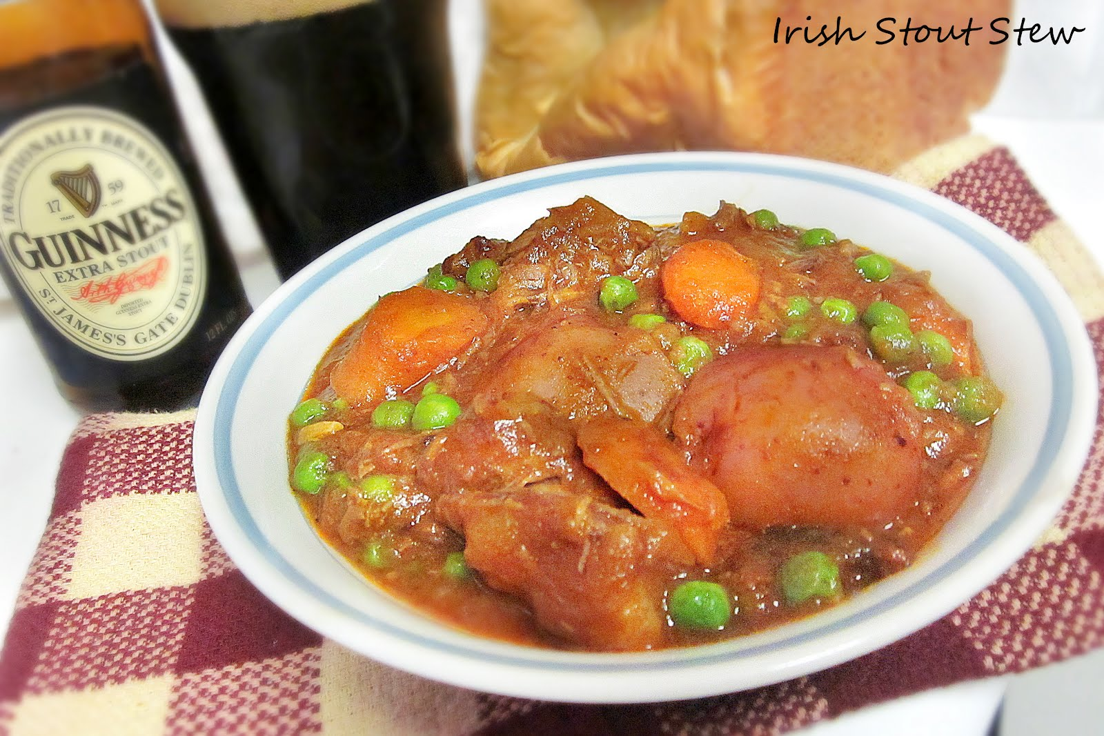 Diddles and Dumplings: Irish Stout Stew