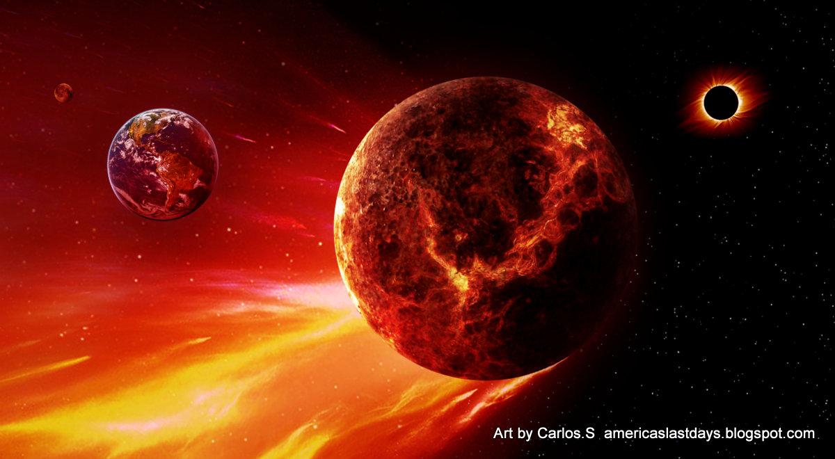 Nibiru Planet X Earth high resolution widescreen