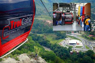 Trolcable en Mérida Venezuela - Lugares de Interés
