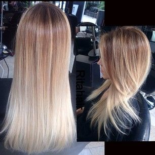 platinum ombre hairstyles photos and video tutorials
