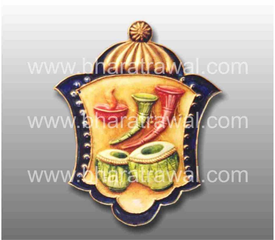 Mural art by muralguru bharat rawal 3d ceramic mural art for Ceramic mural paintings
