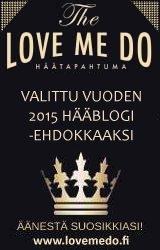 Love Me Do Vuoden Hääblogi 2015 ehdokas