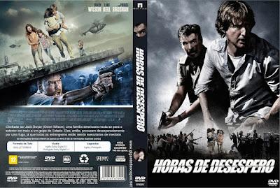 Filme Horas de Desespero DVD Capa