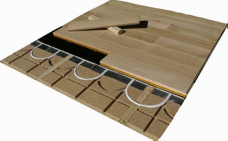 Plancher chauffant sec mince mur chauffant plafond chauffant caleosol le blog plancher - Chape seche sur plancher bois ...